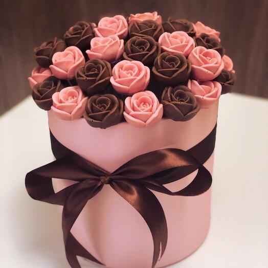 Шоколадные розы 10