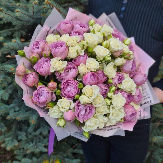 Flowers Lovers - микс из кустовых роз