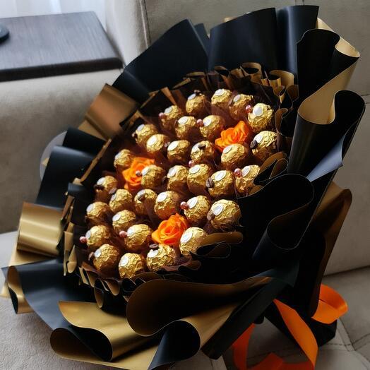 Букет  AFJ  Ferrero Black