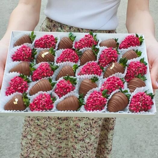 Клубника в шоколаде 30 шт