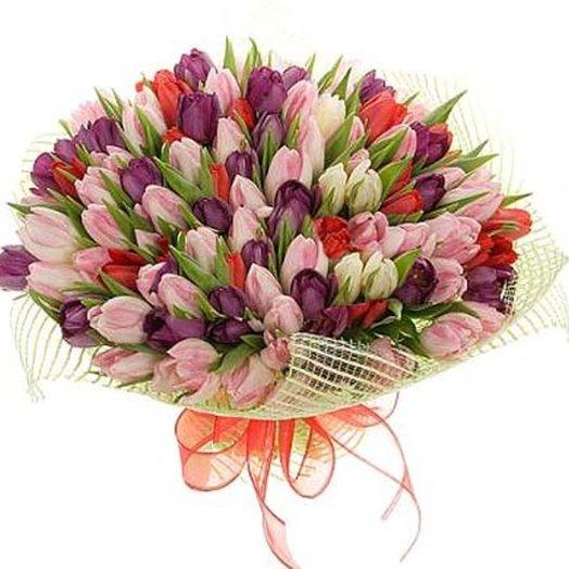 Букет Французский поцелуй: букеты цветов на заказ Flowwow