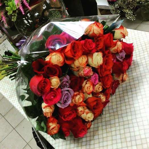 Сильные чувства: букеты цветов на заказ Flowwow
