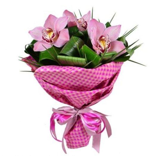 Орхидея букет без роз: букеты цветов на заказ Flowwow