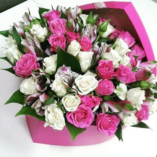 Розовый взрыв: букеты цветов на заказ Flowwow