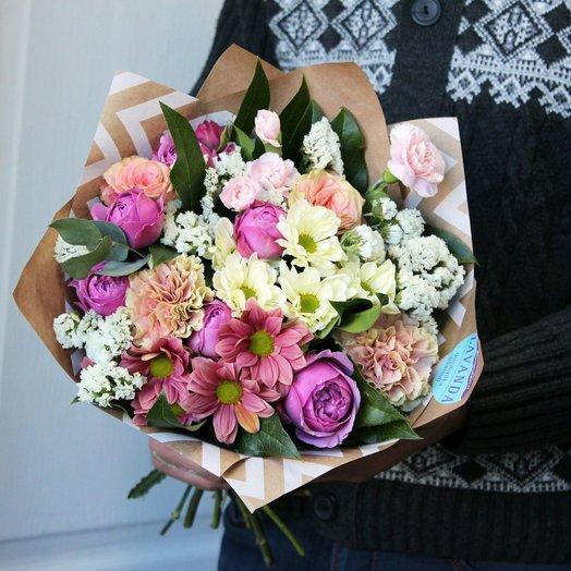 Букет Презент: букеты цветов на заказ Flowwow
