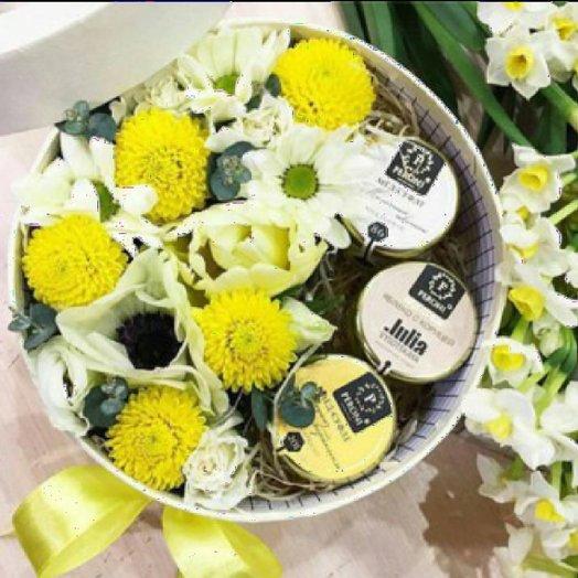 Цветочная коробочка : букеты цветов на заказ Flowwow