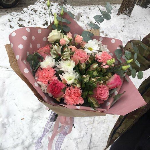 """Букет """"Розовый сон"""": букеты цветов на заказ Flowwow"""