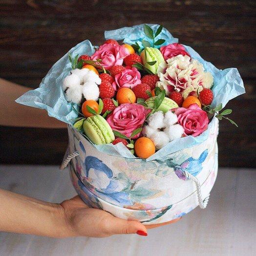 Набор Малиновый Сорбет: букеты цветов на заказ Flowwow
