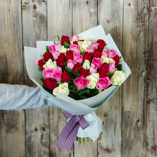 Букет 29 роз Кения: букеты цветов на заказ Flowwow
