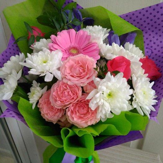 Букет сборный очарование: букеты цветов на заказ Flowwow