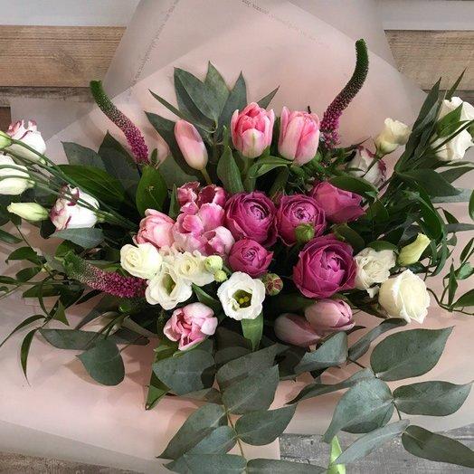"""Букет """"Розовые грёзы"""": букеты цветов на заказ Flowwow"""