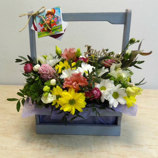 Ящик 1: букеты цветов на заказ Flowwow