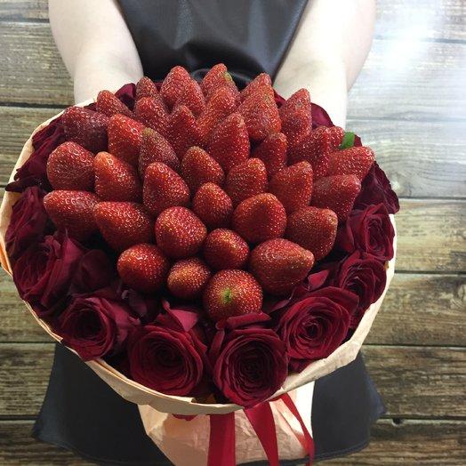 Klubnika ROSE: букеты цветов на заказ Flowwow