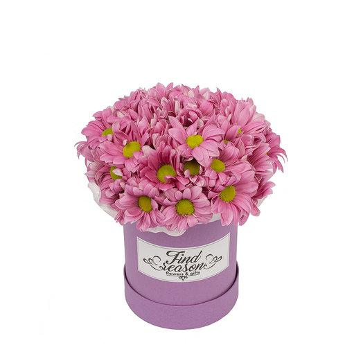 "Шляпная коробка ""Самой милой"": букеты цветов на заказ Flowwow"
