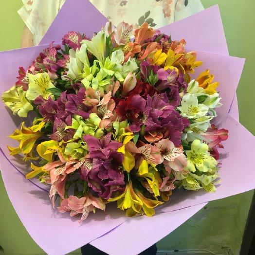 Альстромерия 35: букеты цветов на заказ Flowwow