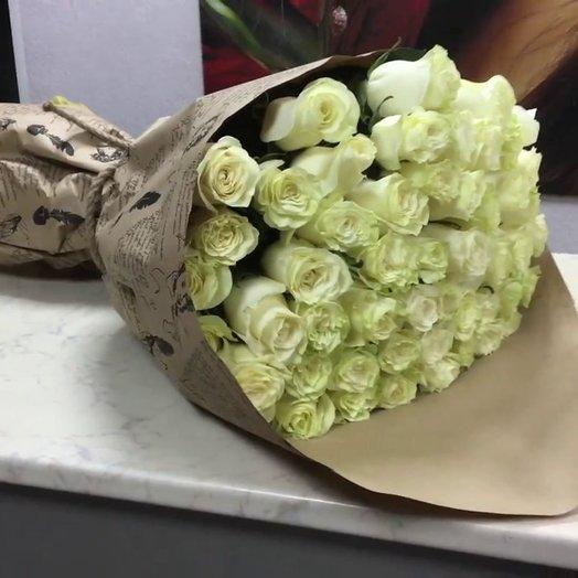 Премиум роза: букеты цветов на заказ Flowwow