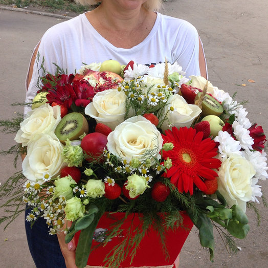 Boxes of flowers: flowers to order Flowwow