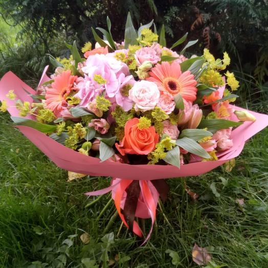 Испанское солнце: букеты цветов на заказ Flowwow
