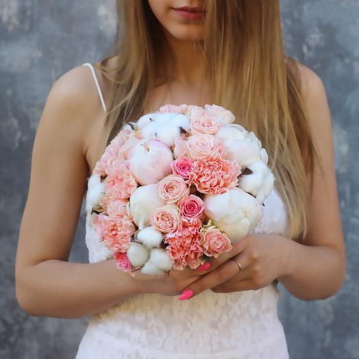 Букет невесты 02: букеты цветов на заказ Flowwow