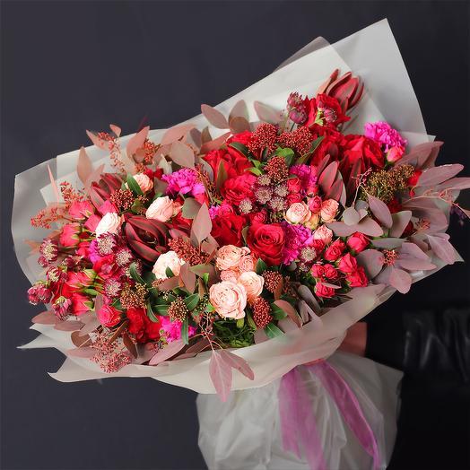Букет 38: букеты цветов на заказ Flowwow