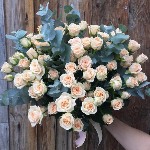 Роза кустовая 19: букеты цветов на заказ Flowwow