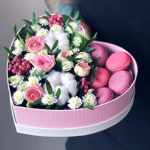 Heart 16 Малое: букеты цветов на заказ Flowwow