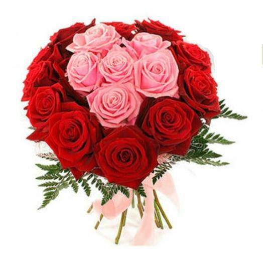 Роза сердце: букеты цветов на заказ Flowwow