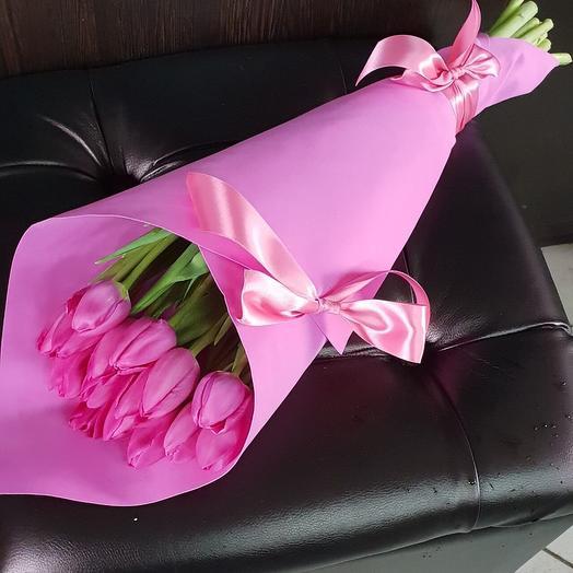 Тюльпаны к 8 марта: букеты цветов на заказ Flowwow