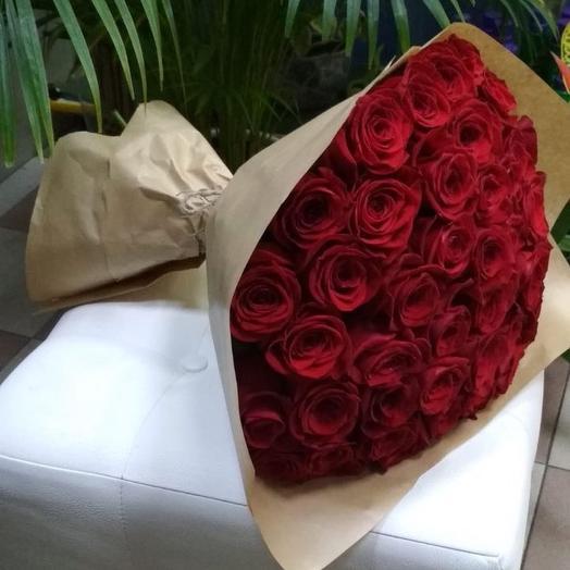 Шикарный букет из роз: букеты цветов на заказ Flowwow