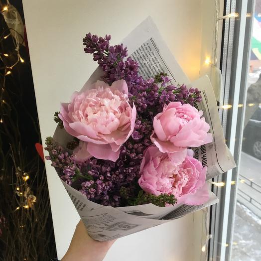 Безумный букет: букеты цветов на заказ Flowwow
