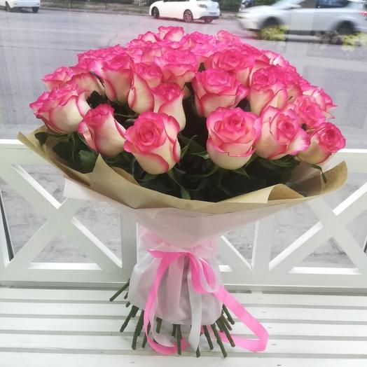 41 роза: букеты цветов на заказ Flowwow