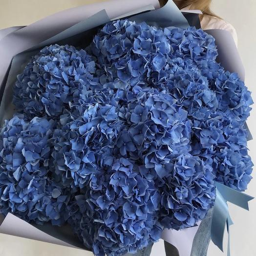 Синее облако: букеты цветов на заказ Flowwow