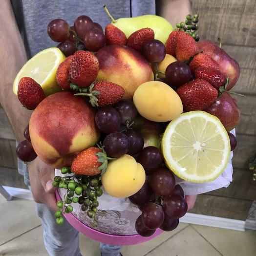 Вкусная витаминная коробочка: букеты цветов на заказ Flowwow