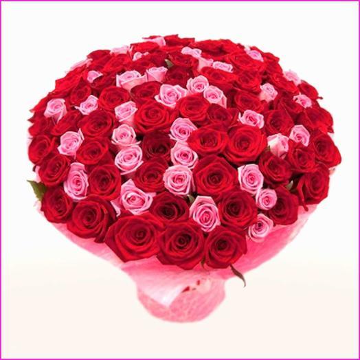 51 роза MIX