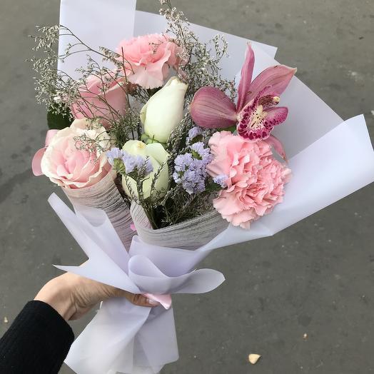 Оригинальный 💕: букеты цветов на заказ Flowwow
