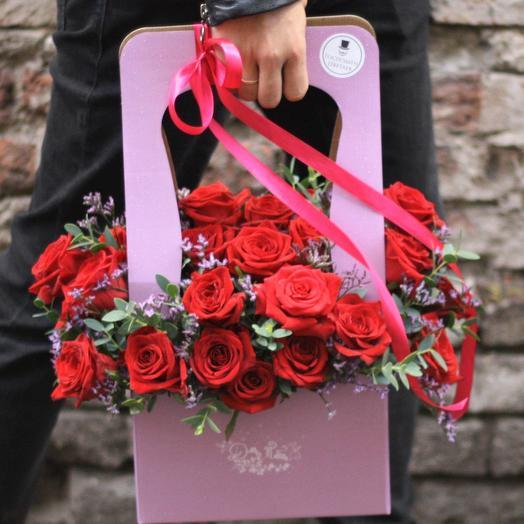 Променадный Джеймс: букеты цветов на заказ Flowwow