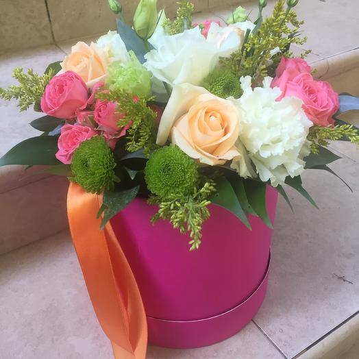 Коробка «Сюрприз»: букеты цветов на заказ Flowwow
