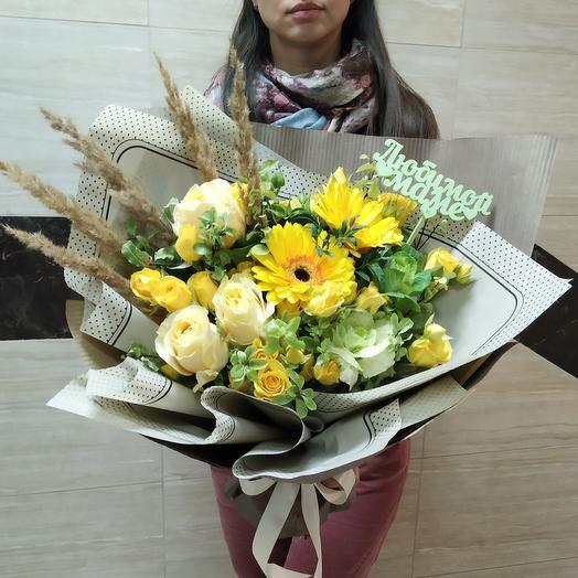 Букет для  любимой мамы: букеты цветов на заказ Flowwow