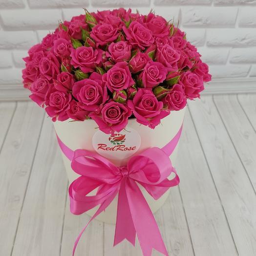 Малиновый свет: букеты цветов на заказ Flowwow