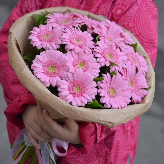 "Букет из гербер ""Карамель"": букеты цветов на заказ Flowwow"
