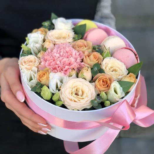 Персиковое суфле: букеты цветов на заказ Flowwow