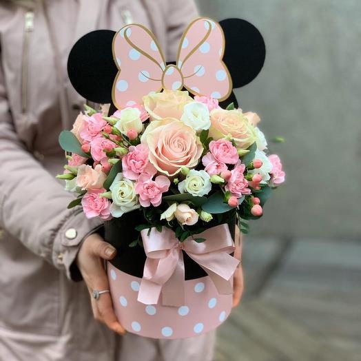 Микки: букеты цветов на заказ Flowwow