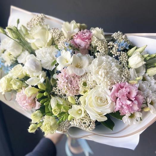 Букет15: букеты цветов на заказ Flowwow