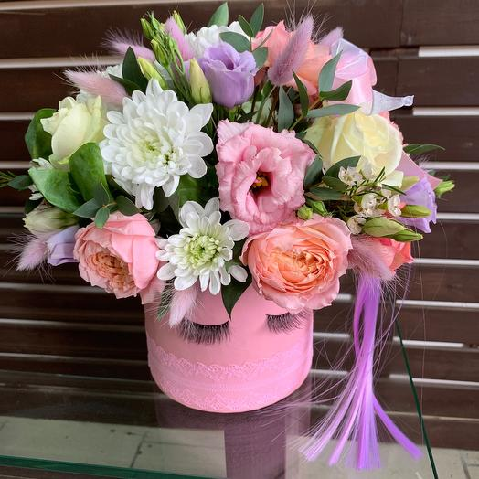 Милое создание: букеты цветов на заказ Flowwow