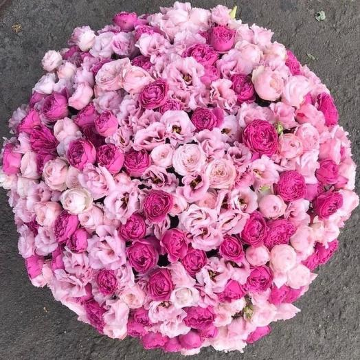 Букет  цветов Сладкая вата