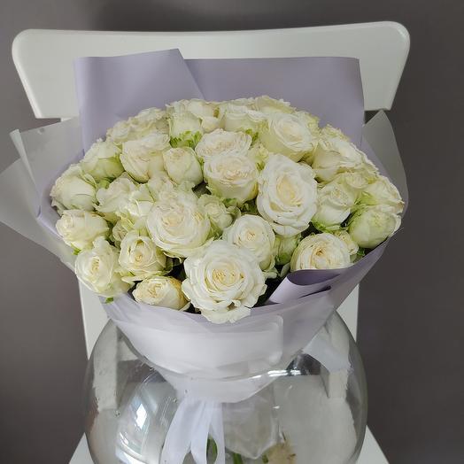 Букет Белый зефир: букеты цветов на заказ Flowwow