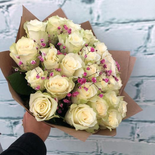 Букет из кенийской Розы (микс цветов)
