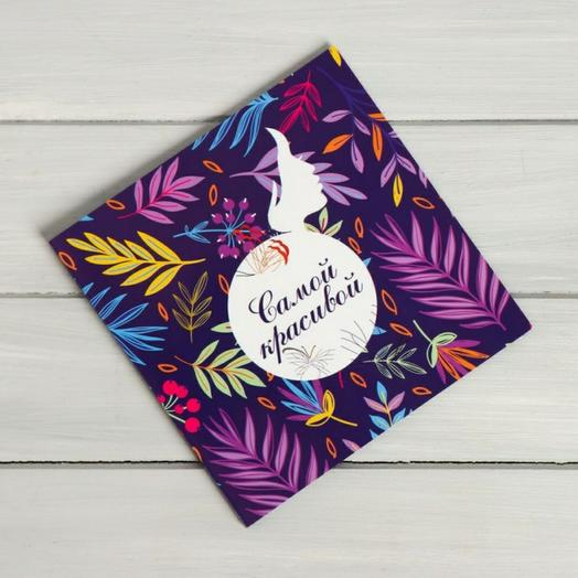 Шоколад открытка