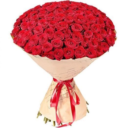 Букет из Красных Роз  101