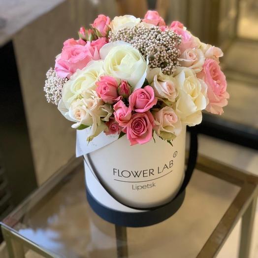 Цветы в коробке Розмарин